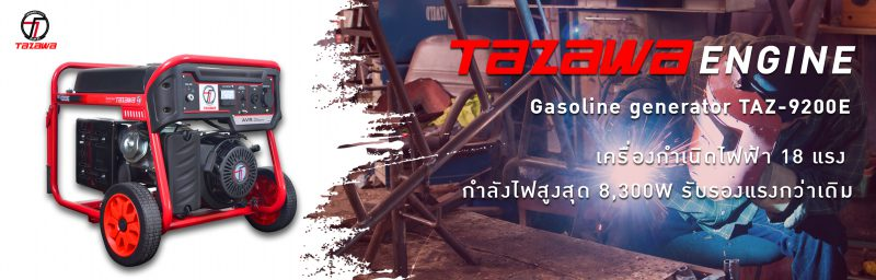 TAZAWA เครื่องกำเนิดไฟฟ้า